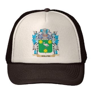 Escudo de armas de Halpin - escudo de la familia Gorra