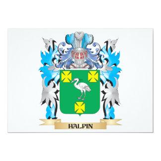 Escudo de armas de Halpin - escudo de la familia Invitación Personalizada