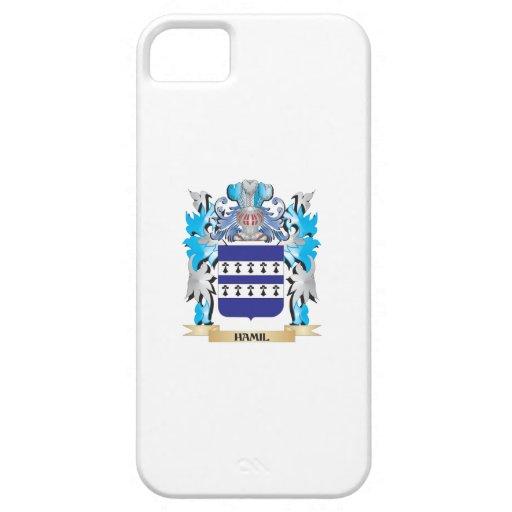 Escudo de armas de Hamil - escudo de la familia iPhone 5 Funda