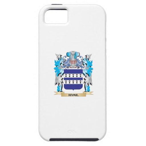 Escudo de armas de Hamil - escudo de la familia iPhone 5 Coberturas
