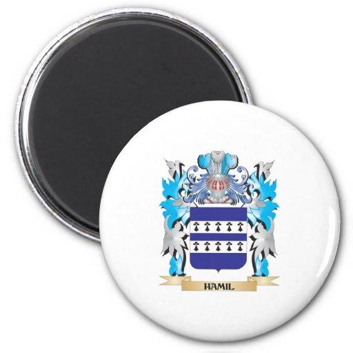 Escudo de armas de Hamil - escudo de la familia Imán De Nevera