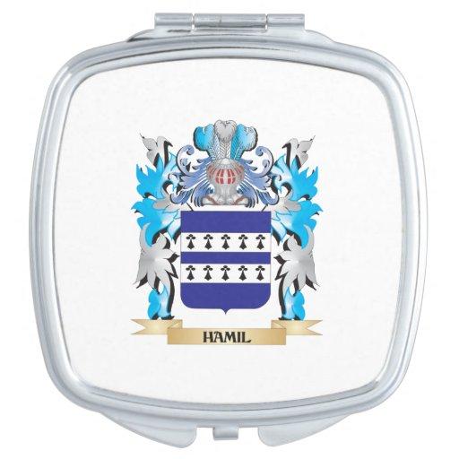 Escudo de armas de Hamil - escudo de la familia Espejos De Viaje