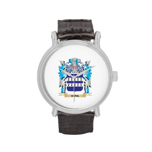 Escudo de armas de Hamil - escudo de la familia Reloj