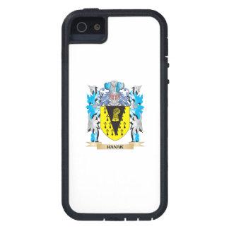 Escudo de armas de Hanak - escudo de la familia iPhone 5 Case-Mate Cobertura