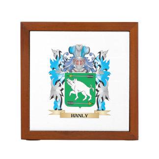 Escudo de armas de Hanly - escudo de la familia