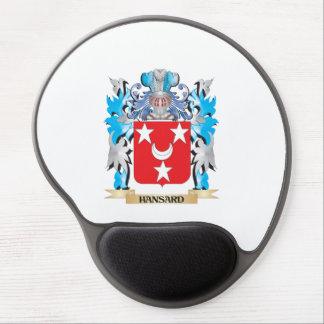 Escudo de armas de Hansard - escudo de la familia Alfombrillas Con Gel