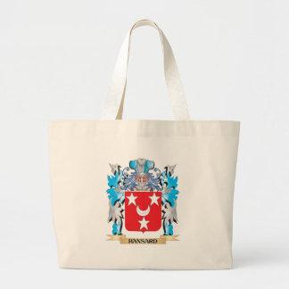 Escudo de armas de Hansard - escudo de la familia Bolsa Lienzo