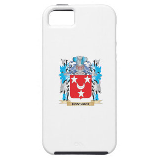 Escudo de armas de Hansard - escudo de la familia iPhone 5 Case-Mate Funda