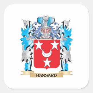 Escudo de armas de Hansard - escudo de la familia Etiquetas