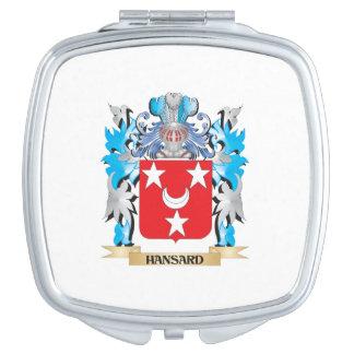 Escudo de armas de Hansard - escudo de la familia Espejos De Viaje