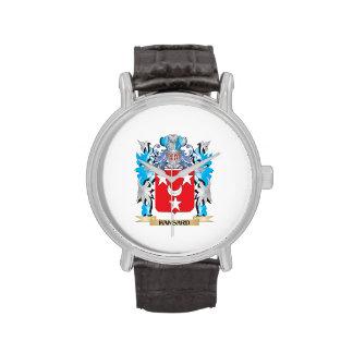 Escudo de armas de Hansard - escudo de la familia Relojes De Mano