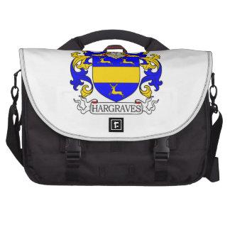 Escudo de armas de Hargraves Bolsas Para Portatil