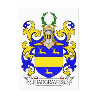 Escudo de armas de Hargraves Impresión En Lienzo Estirada