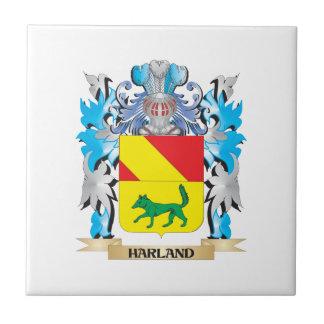 Escudo de armas de Harland - escudo de la familia Azulejo