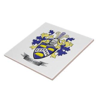 Escudo de armas de Harris Azulejo Cuadrado Grande