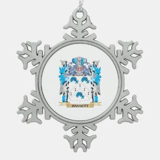 Escudo de armas de Hassett - escudo de la familia Adornos
