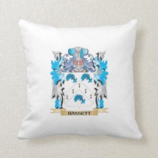 Escudo de armas de Hassett - escudo de la familia Almohada