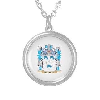 Escudo de armas de Hassett - escudo de la familia Pendiente Personalizado