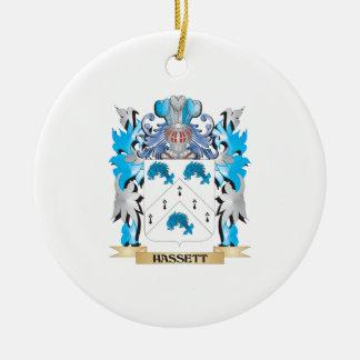 Escudo de armas de Hassett - escudo de la familia Ornato
