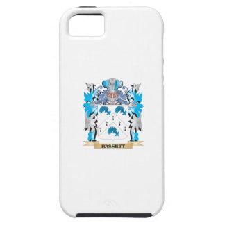 Escudo de armas de Hassett - escudo de la familia iPhone 5 Fundas