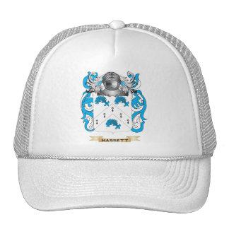 Escudo de armas de Hassett (escudo de la familia) Gorro