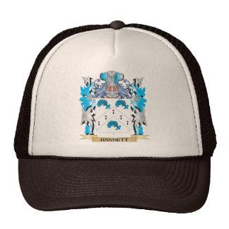 Escudo de armas de Hassett - escudo de la familia Gorros