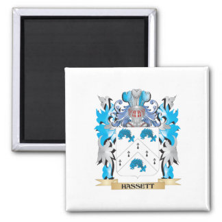Escudo de armas de Hassett - escudo de la familia Imán De Nevera