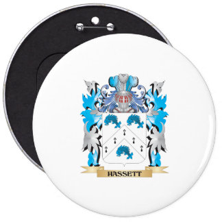 Escudo de armas de Hassett - escudo de la familia Pins