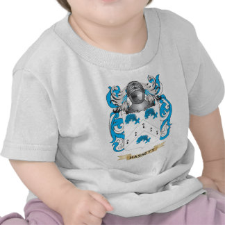 Escudo de armas de Hassett (escudo de la familia) Camisetas