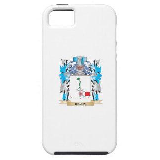 Escudo de armas de Hayes - escudo de la familia iPhone 5 Case-Mate Protector