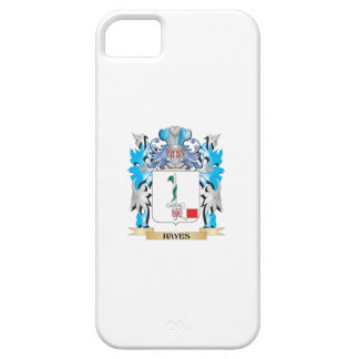 Escudo de armas de Hayes - escudo de la familia iPhone 5 Case-Mate Cárcasas