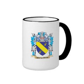 Escudo de armas de Hayworth - escudo de la familia Tazas De Café