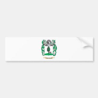 Escudo de armas de Heaslip (escudo de la familia) Pegatina De Parachoque