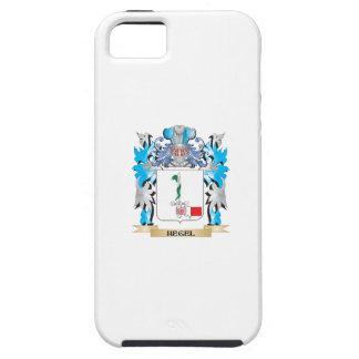 Escudo de armas de Hegel - escudo de la familia iPhone 5 Case-Mate Funda