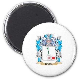 Escudo de armas de Hegel - escudo de la familia Imán Para Frigorifico