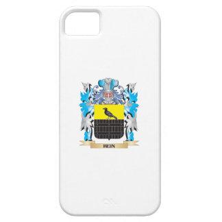 Escudo de armas de Hein - escudo de la familia iPhone 5 Protectores