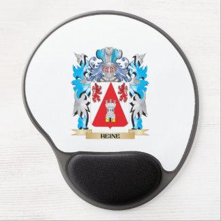 Escudo de armas de Heine - escudo de la familia Alfombrilla De Ratón Con Gel