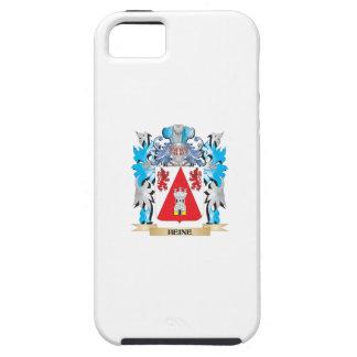 Escudo de armas de Heine - escudo de la familia iPhone 5 Case-Mate Fundas