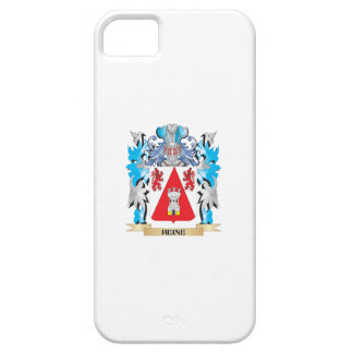 Escudo de armas de Heine - escudo de la familia iPhone 5 Case-Mate Carcasa