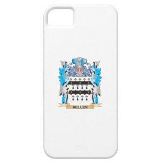 Escudo de armas de Hellen - escudo de la familia iPhone 5 Case-Mate Cárcasa