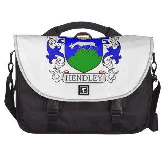 Escudo de armas de Hendley Bolsa De Ordenador