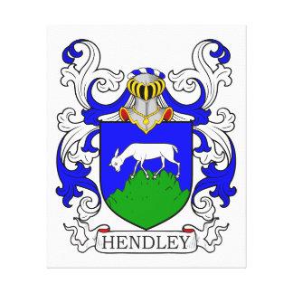 Escudo de armas de Hendley Impresiones En Lona