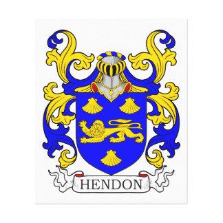 Escudo de armas de Hendon Impresiones En Lona
