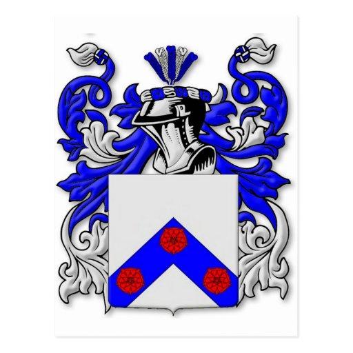 Escudo de armas de Henningsen Postales