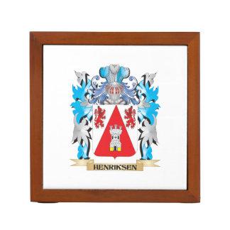 Escudo de armas de Henriksen - escudo de la