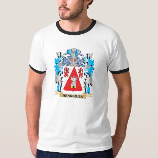 Escudo de armas de Henriques - escudo de la Camisas