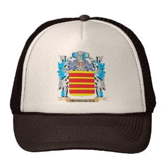 Escudo de armas de Henriquez - escudo de la Gorras De Camionero