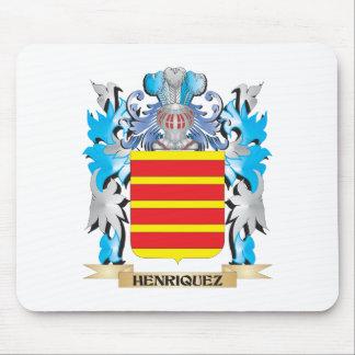 Escudo de armas de Henriquez - escudo de la Alfombrilla De Ratón