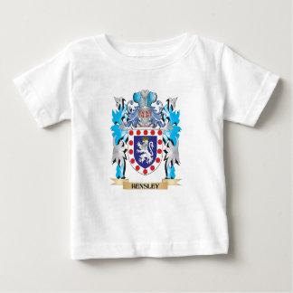 Escudo de armas de Hensley - escudo de la familia Camisas