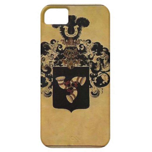 Escudo de armas de Heorhiy Narbut- de la familia d iPhone 5 Protector